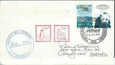 AAT- 1991 'GERMAN MV - ICEBIRD Hamburg' cover with Penguin  [A3422]