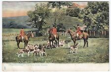 Fox Hunting, The Meet of The Hounds PPC, Unposted, By Tuck no 1420