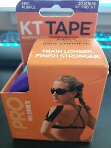 KT Tape PRO Kinesiology Sports Tape For Common Injuries Purple