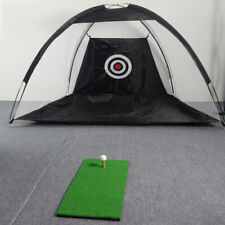 Outdoor Golf Practice Net Driving and Chipping Cage Training Aid New
