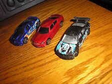 Lot of 3 Hot Wheels & Maisto Dodge Charger Daytona Drift R/T SRT-8 Muscle Cars