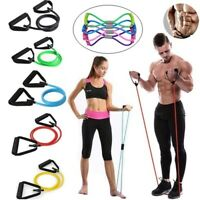 Fitness Resistance Bands Training Elastische Yoga Pilates Pull Rope Tubes H Neue