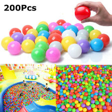 "1.57"" 200pcs Quality Baby Kid Pit Toy Swim Fun Colorful Soft Plastic Ocean Balls"