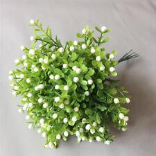 Lot Artificial Fake Flower Bouquet Plastic Floral For Wedding Home Office Décor