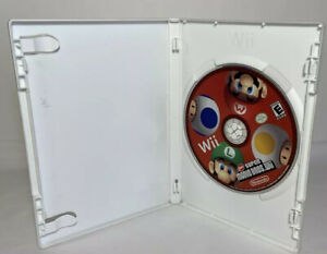 New Super Mario Bros. Wii Disc Only Nintendo Wii Tested Gently used very good!