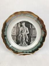 Vintage1814 Germany Hutschenreuther China Gold Trim Salad Plate 7 5/8