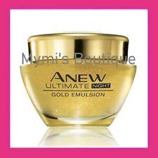 Soin de nuit émulsion gold 7S anti-âge Anew Ultimate Avon - dès 50 ans