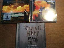 Uriah Heep [4 CD +1 DVD]  Celebration + Revelations The  Anthology + Salisbury