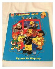Vintage Fireman Sam Tip & Fit Playtray - Complete - Micheal Stanfield Toys