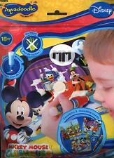 TOMY Mickey Mouse Clubhouse Aquadoodle Mini Mats (3 mats and 1 aquadoodle pen)
