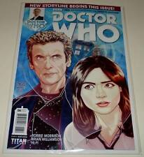 DOCTOR WHO : The TWELTH DOCTOR # 6 Cover A Titan Comic  Apl 2015  PETER CAPALDI