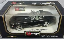 1:18  Bburago 1993 Black Dodge Viper RT/10 Item 3065