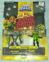 Vintage Judge Dredd Mega Heroes Multi-Packs Action Figures 1995 New