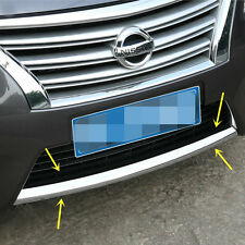 New Chrome Front Bumper Cover Trim for Nissan Sentra 2013 2014 2015