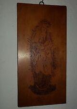 altes Holzbild-Heiligenbild-Eiche?-Bild signiert A.Zeiler