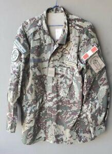 original peruanische Army Amapat Militar Camo Digi Uniform, Gr.XL