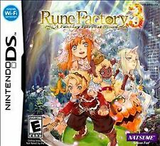 Rune Factory 3: A Fantasy Harvest Moon *Brand New* (Nintendo DS or 3DS, 2010)
