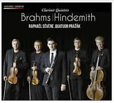 BRAHMS, HINDEMITH: CLARINET QUINTETS NEW CD