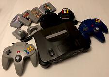 Nintendo 64 +2 Controller +Mario Kart 64 + Super Mario 64 + Pokémon Stadium