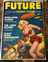 FUTURE SCIENCE FICTION STORIES  PULP SEPT-OCT 1950 GOLDEN AGE of SCIENCE FICTION