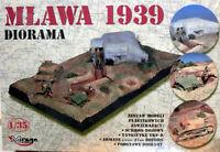 Diorama Mlawa 1939 plastico escala 1/35