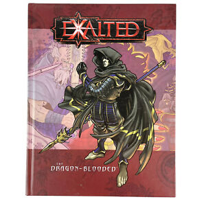 White Wolf 2002 Exalted The Dragon Blooded RPG Hardcover