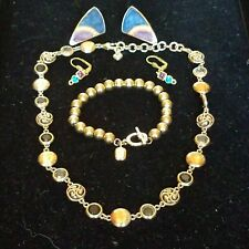 Vintage to Now Estate Jewelry Lot Brighton Trifari RLL Ralph Lauren Wearable