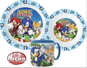 Sonic Dinner Set  Kids Present for Him Her