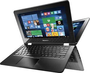 "Lenovo Flex 3-1130 11.6"" Touchscreen Intel Celeron N3050 1.6 GHz 2GB RAM 64B"