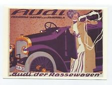 ad883 - advert for Audi  motor car 1912 - art  postcard