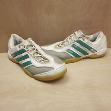 Adidas Top Sala X Retro Vintage 2010 Trainers White Green UK Size 8.5 EUR 43