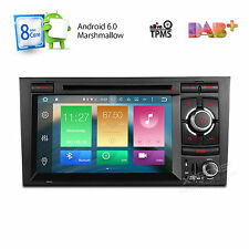"""2DIN 7"""" Octa-Core Android 6.0 Car DVD Player Radio Stereo GPS for Audi A4 S4 RS4"""