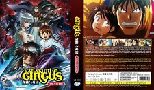 ANIME DVD Karakuri Circus(1-36End)English subtitle&All region FREE SHIPPING L6