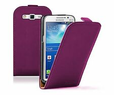 Ultra Slim PURPLE Leather Case Cover for Samsung Galaxy Grand 2 II SM-G7102 Dual