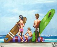 art painting original abstract canvas print not framed  andy baker Australia