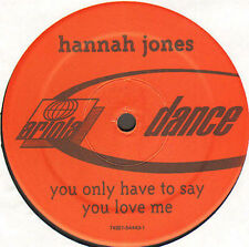 HANNAH JONES - You Only Have To Say You Love Me (Mark Picchiotti Rmx) - Ariola
