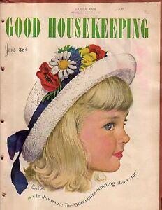 1947 Good Housekeeping June - Short Hills NJ home; Vandalism menace; M Cousins