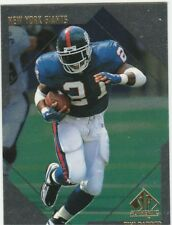 1997 SP Authentic #137 Tiki Barber Rookie New York Giants