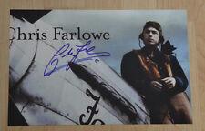 ORIGINAL Autogramm von Chris Farlowe. gesammelt. 20x30 FOTO. 100% ECHT