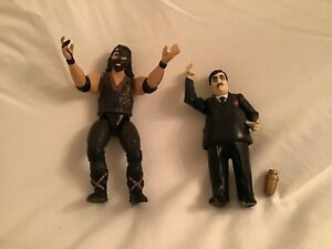 WWF Paul Bearer & Mankind from Series 1 - Action Figures