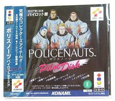 Used 3DO HIDEO KOJIMA POLICENAUTS PILOT DISK KONAMI PANASONIC IMPORT  JAPAN