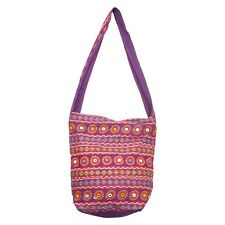 BG-23C Full Hand Work Jhola Bag Indian Traditional Handbag