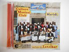 CULTURE MUSICAL CLUB : WARIDI : ZANZIBAR (WORLD MUSIC)    CD RTL Album Port 0€