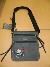 Harley-Davidson® Handtasche Schulter Crossbody Umhängetasche Canvas Skull SALE !