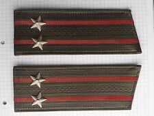 RUSSIAN SOVIET ARMY Millitary uniform shoulder straps Lieutenant Colonel 1989