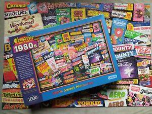 MEMORIES OF THE 1980s SWEET MARATHON OPAL FRUITS BANJO 1000 PIECE JIGSAW PUZZLE