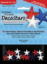 New Crystal Accents Water Absorbing Stars Expanding Gel Shapes Vase Filler Decor