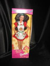 1997 Barbie HOLIDAY TREATS Doll Long Brunette Hair #18012 NRFB