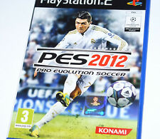 PRO EVOLUTION SOCCER 2012 PES 12 Playstation 2 PS2 Sony *PAL* RARE