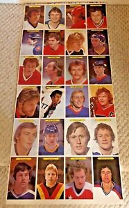 1980-81 O-Pee-Chee Super Uncut Hockey Sheet -- Gretzky card in Mint Condition